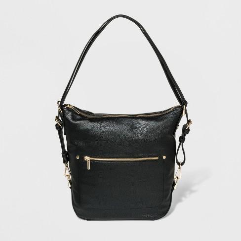 Convertible Backpack Hobo Handbag A New Day