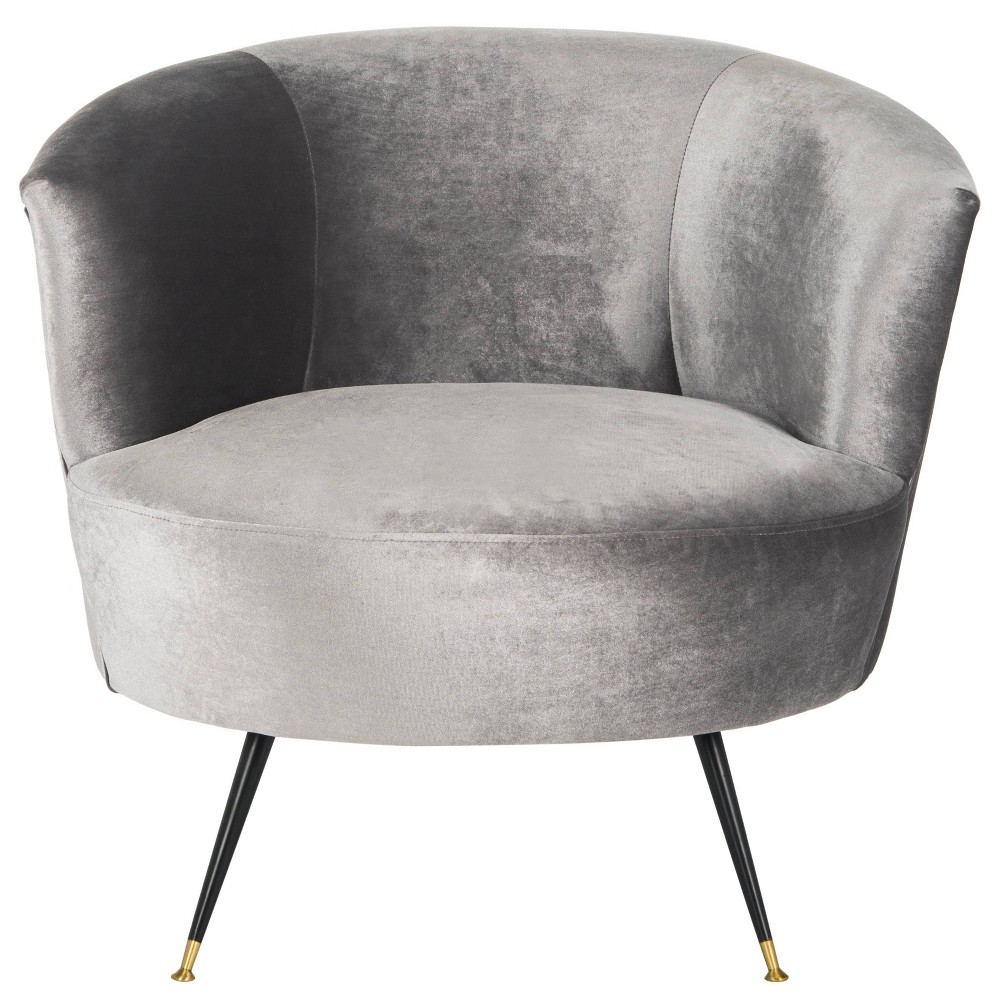 Arlette Accent Chair - Gray - Safavieh