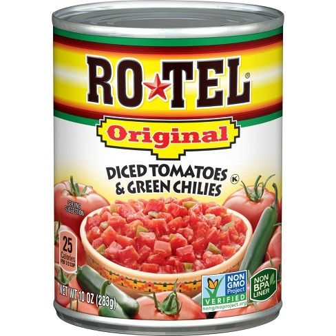 Rotel Original Diced Tomatoes & Green Chilies 10oz - image 1 of 2