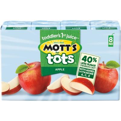 Juice Boxes: Mott's for Tots