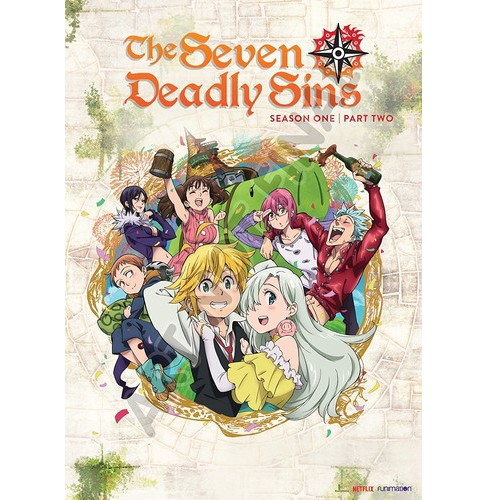 Seven Deadly Sins:Season One Part Two (DVD) - image 1 of 1