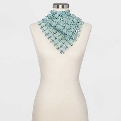 Women's Jacquard Bandana - Universal Thread™ Green One Size
