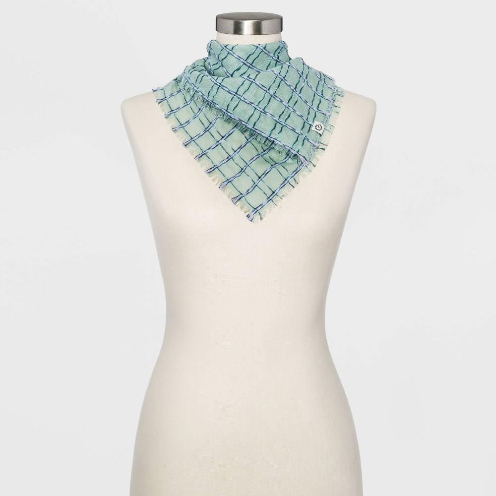 Women 39 S Jacquard Bandana Universal Thread 8482 Green One Size