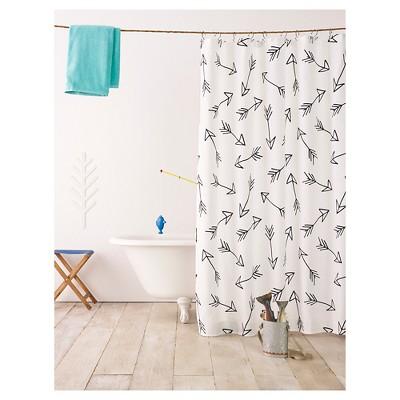 Black Arrow Shower Curtain - Pillowfort™
