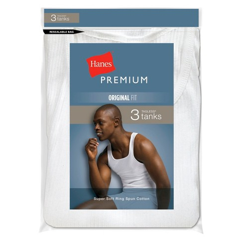 40513be1d092d2 Hanes Premium® Men s 3-Pack Tank Top   Target