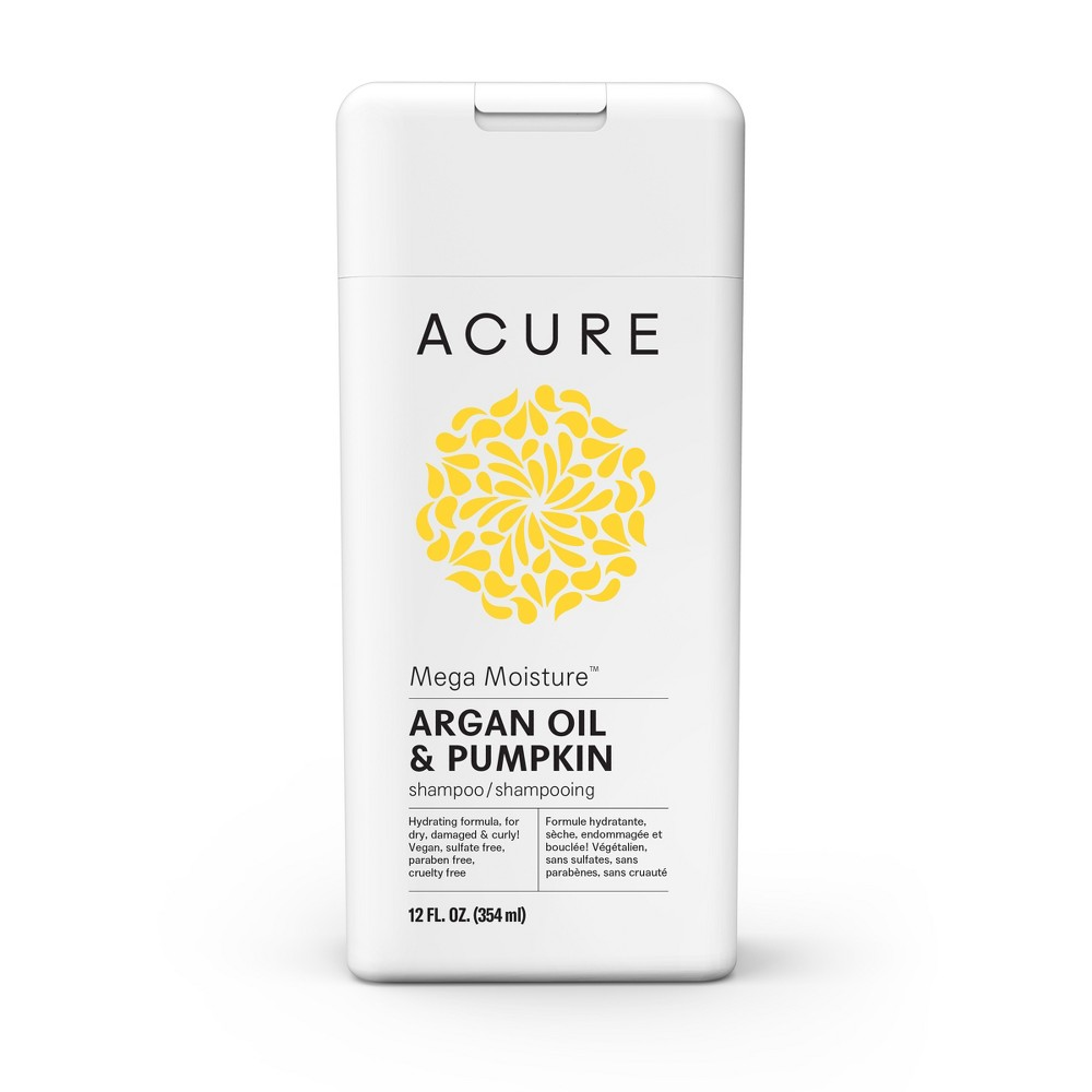 Image of Acure Mega Moisture Argan Oil & Pumpkin Shampoo - 12 fl oz