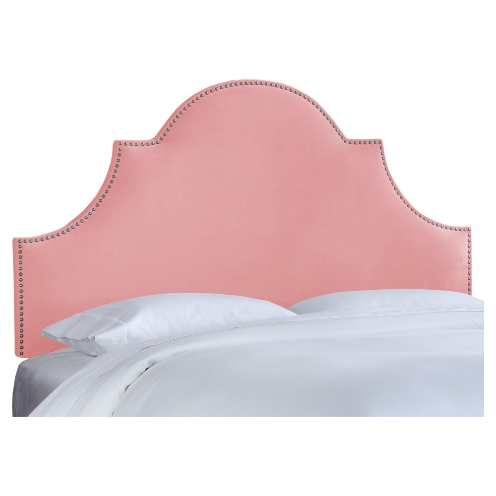 Chambers Headboard - Premier Light Pink (Full) - Skyline Furniture