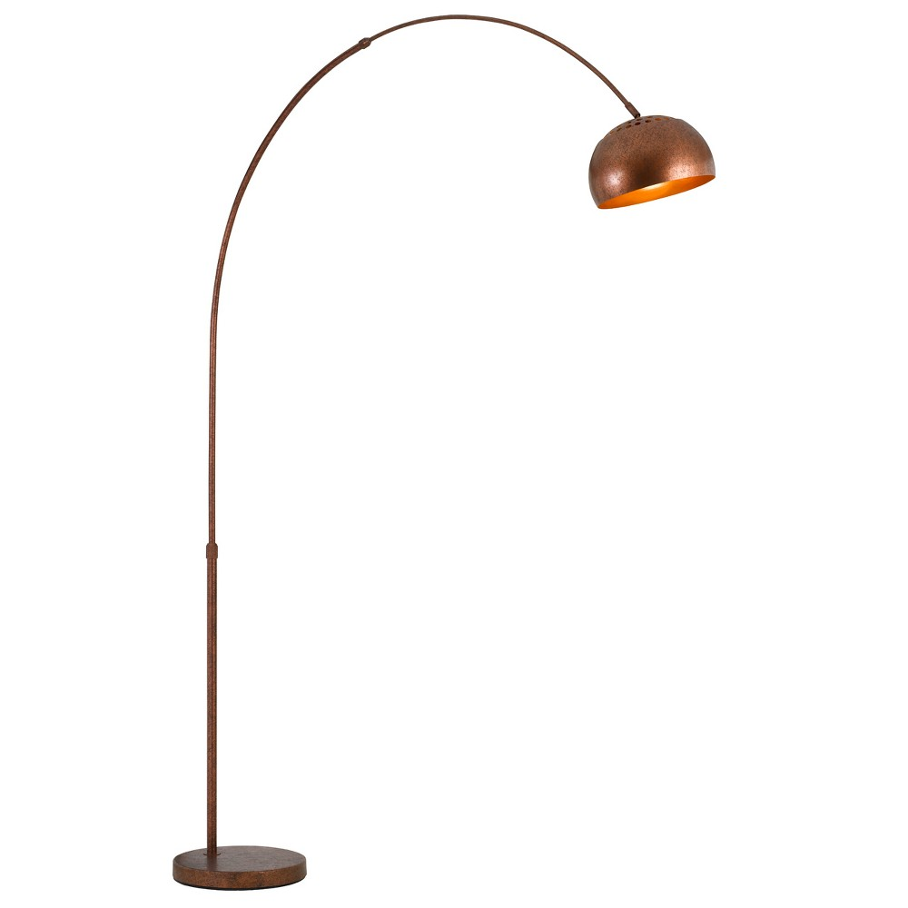 Ragusa Metal Floor Lamp Rust (Red) 4.7