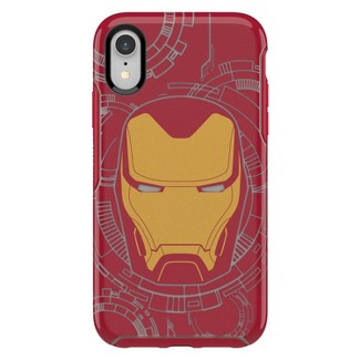OtterBox Apple iPhone XR Marvel Symmetry Case - Iron Man