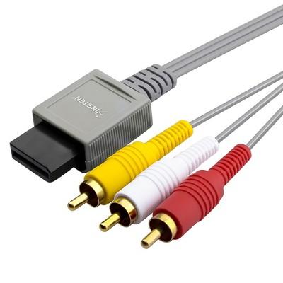 INSTEN AV Composite Cable compatible with Nintendo Wii / Wii U