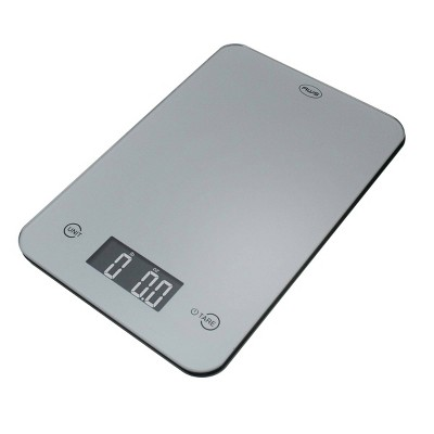 American Weigh Scales Onyx-5K Tempered Glass Kitchen Scale Silver/Gray