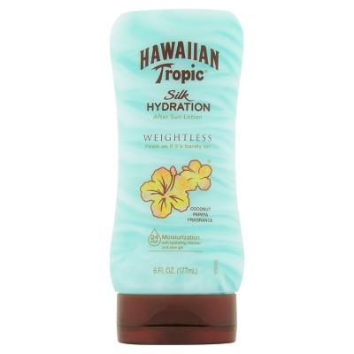 Hawaiian Tropic Silk Hydration Weightless After Sun Lotion - 6oz
