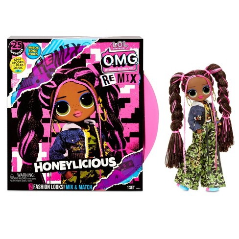 L.O.L. Surprise! O.M.G. Remix Honeylicious Fashion Doll– 25 Surprises with Music - image 1 of 4