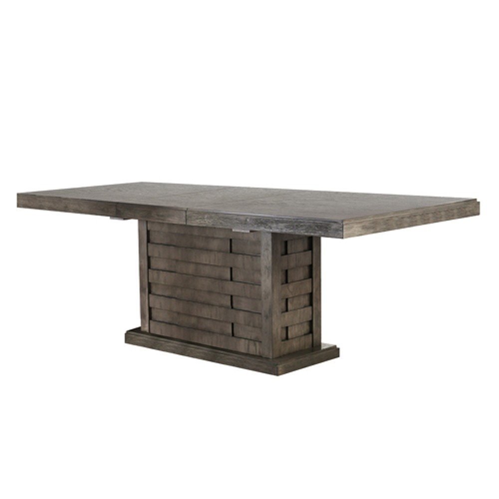 Henry Rectangular Wood Dining Table Gray - Homes: Inside + Out