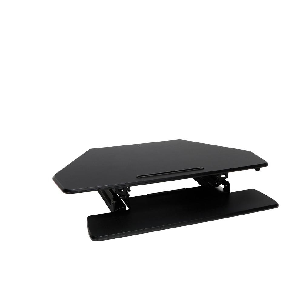 Image of Corner Adjustable Desktop Black - OFM