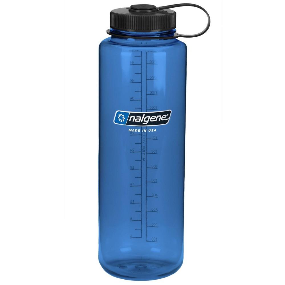 Nalgene 48oz Wide Mouth Water Bottle Blue