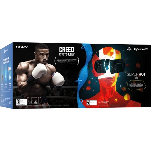 Sony PlayStation VR Bundle with Creed: Rise to Glory & Superhot VR - image 1 of 2