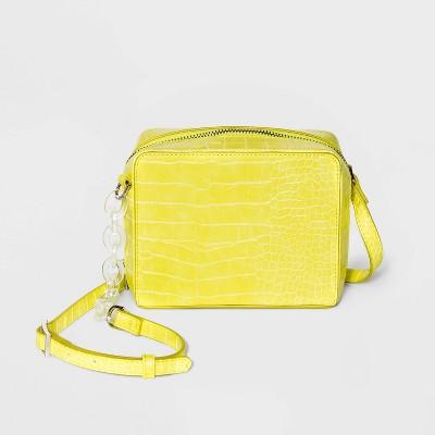 Zip Closure Crossbody Bag - Wild Fable™