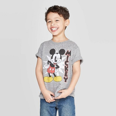 Boys' Disney Short Sleeve T-Shirt - Gray 12M
