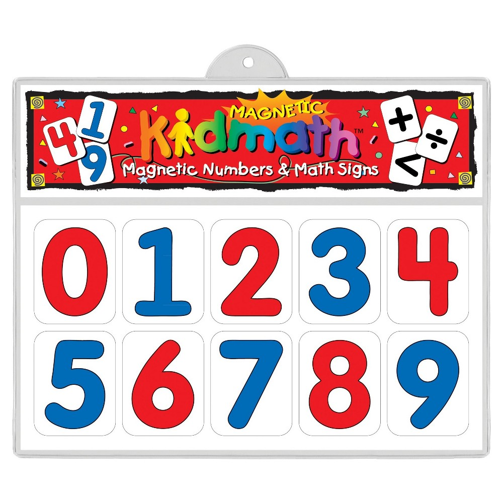 Image of Barker Creek KidMath Magnets - Numbers & Math Signs
