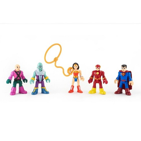 Fisher-Price Imaginext DC Comics Super Friends Heroes & Villains 5pk - image 1 of 3