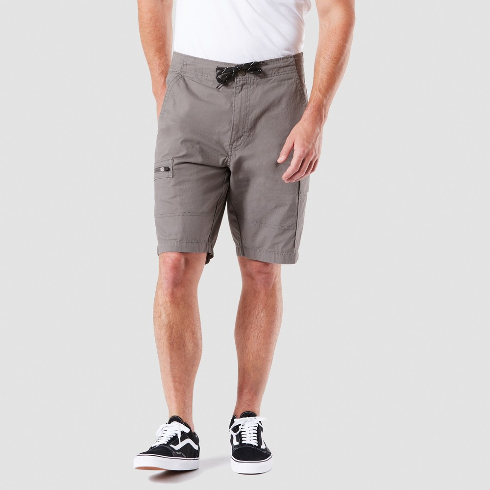"Image of ""DENIZEN from Levi's 10.5"""" Relaxed Fit Cargo Shorts - Silverstone 30, Men's"""