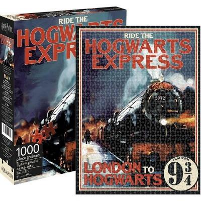 NMR Distribution Harry Potter Hogwarts Express 1000-Piece Jigsaw Puzzle