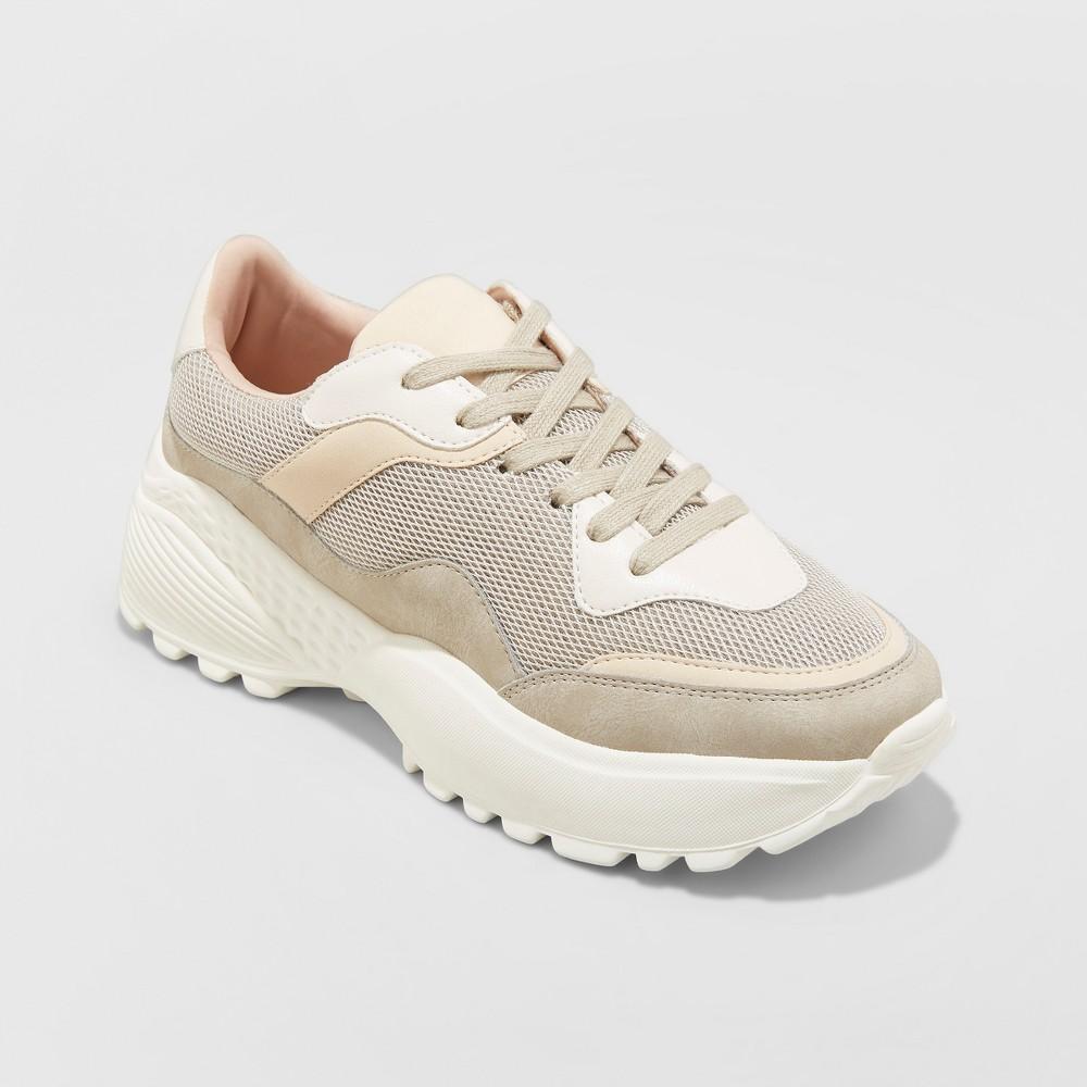Women's Freshee Sneakers - Wild Fable Gray 7