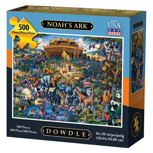 Dowdle Jigsaw Puzzle - Noah's Ark - 500pc - image 1 of 4