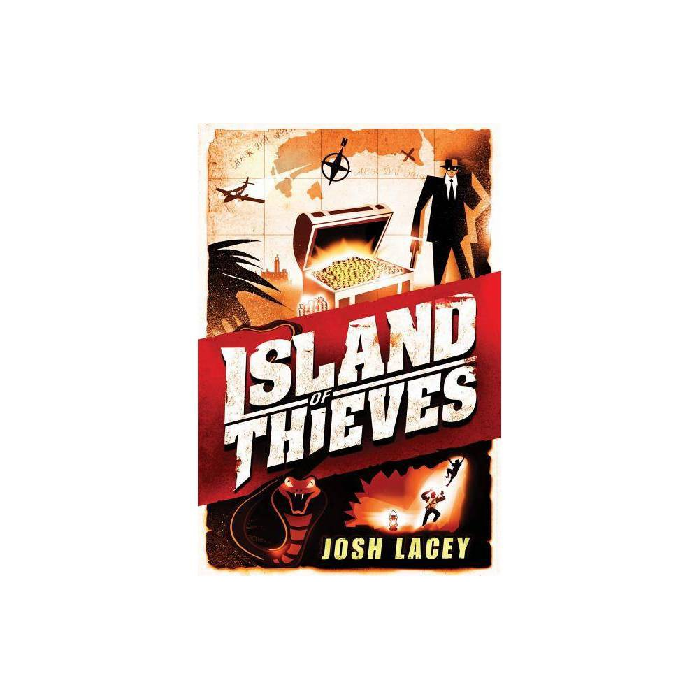 Island of Thieves - by Josh Lacey (Hardcover) 'Only boring people get bored...Interesting people can always find something to be interested in.' That's what Tom Trelawney's father says, anyway. Tom shouldn't have been interested in playing with matches but he was...bored. Now the shed is in ashes and strange Uncle Harvey is the only one willing to have him stay while his parents vacation Tom soon discovers Harvey is going to South America on a treasure hunt and though nephews aren't invited, he manages to tag along. Before it's over he'll drive a car, fire a gun and run for his life. Tom realizes that life may be about following the rules, but survival may be about breaking them.