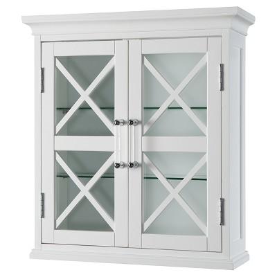 Wall Cabinet White - Elegant Home Fashions