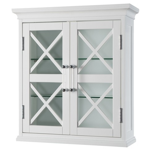 Wall Cabinet White - Elegant Home Fashions - image 1 of 4