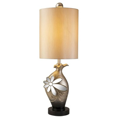 OK Lighting Floral Glamour Table Lamp