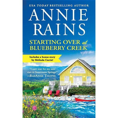 Starting Over at Blueberry Creek - (Sweetwater Springs) by Annie Rains (Paperback) - image 1 of 1