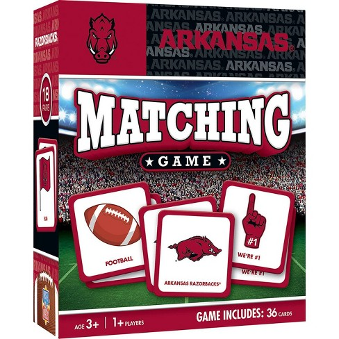 NCAA Arkansas Razorbacks Matching Game - image 1 of 2