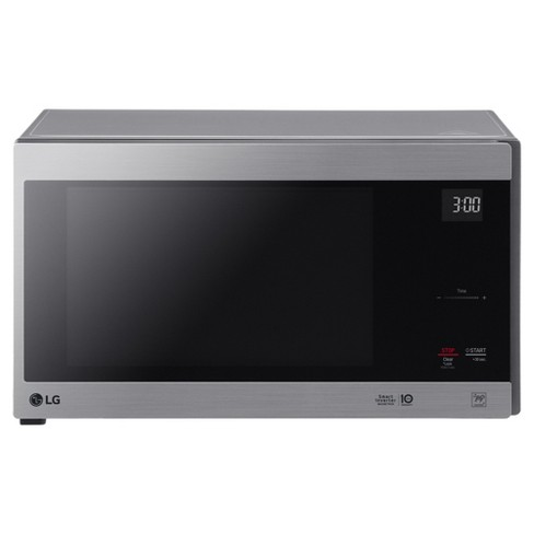 LG 1.5 cu ft Smart Inverter Countertop Microwave -<br> Stainless Steel - image 1 of 9