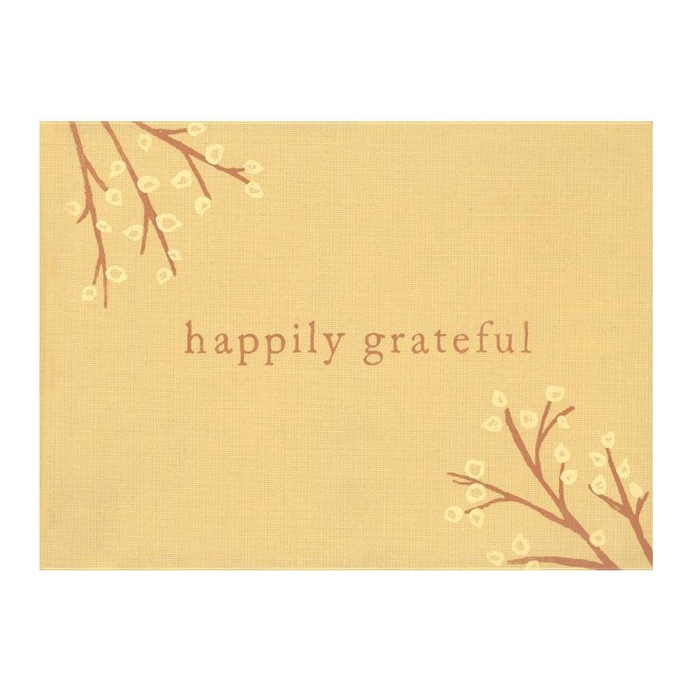 Happily Grateful Hardcover