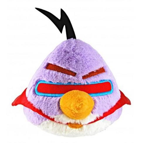 "Commonwealth Toys Angry Birds Purple Space Bird 16"" Plush - image 1 of 1"