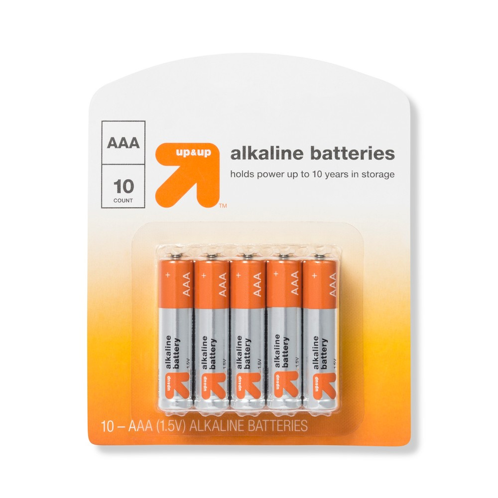 Aaa Batteries - 10ct - Up&Up Aaa Batteries - 10ct - Up&Up