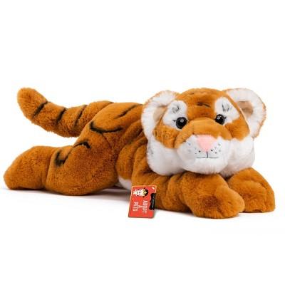 "FAO Schwarz Adopt-A-Pets Tiger 22"" Stuffed Animal with Adoption Certificate"
