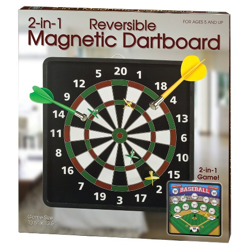 Westminster Inc. 2-in-1 Reversible Magnetic Dartboard - image 1 of 4
