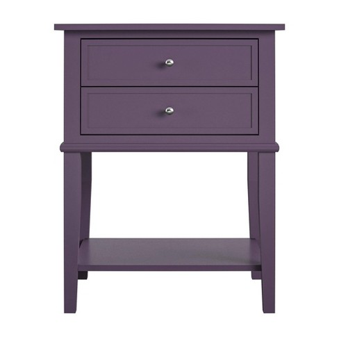 Durham Accent Table with 2 Drawers - Room & Joy - image 1 of 4