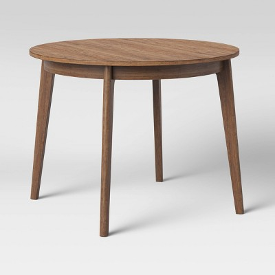 """40"""" Astrid Mid-Century Round Dining Table with Fixed Top - Project 62™"""