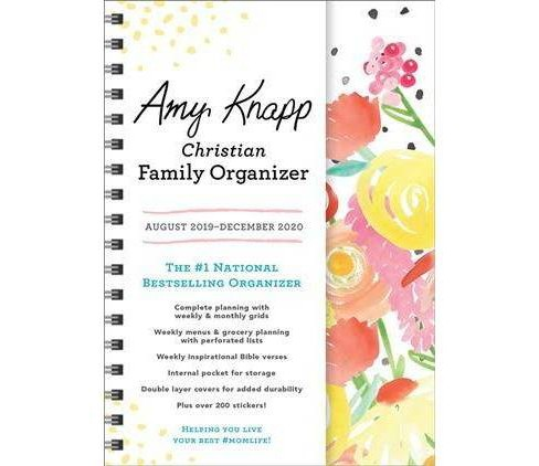 Amy Knapp Christian Family 2019-2020 Organizer -  (Paperback) - image 1 of 1
