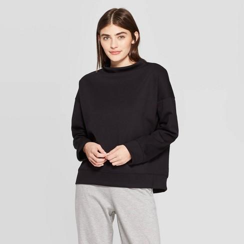 Women's Long Sleeve High Neck Sweatshirt - Prologue™ - image 1 of 3