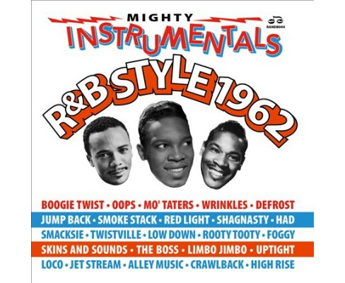 Various - Mighty Instrumentals R&b Style 1962 (CD) - image 1 of 1