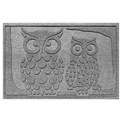 Medium Gray Animals Pressed Doormat - (2'X3') - Bungalow Flooring