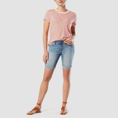 DENIZEN® from Levi's® Women's Modern Skinny Bermuda Jean Shorts - Beach Please