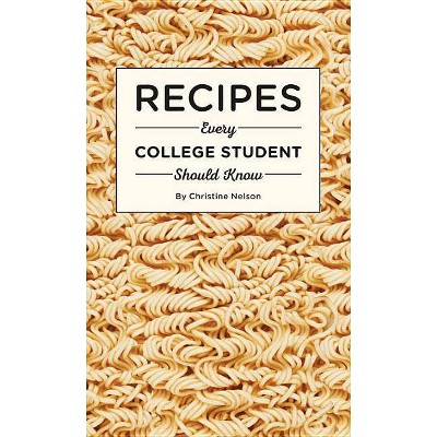 Recipes Every College Student Should Know - (Stuff You Should Know) by  Christine Nelson (Hardcover)