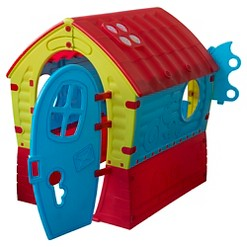 TP Toys Dream House - Red, Blue, Green